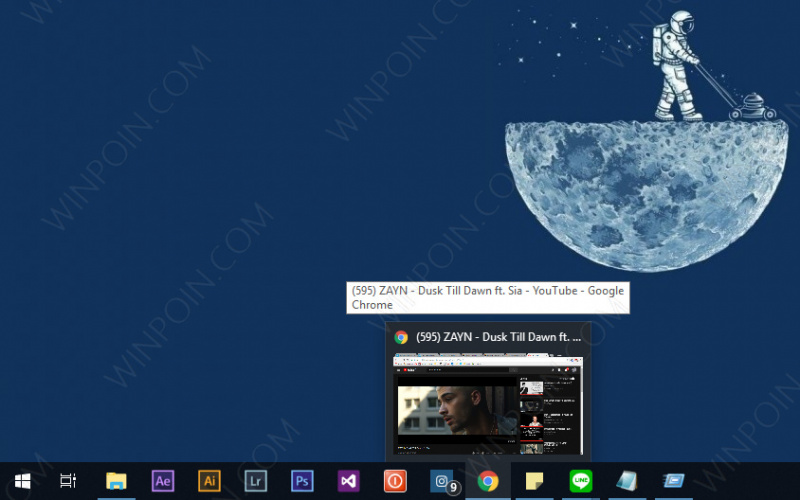 Cara Mengganti Ukuran Thumbnail Preview Taskbar di Windows 10 (5)