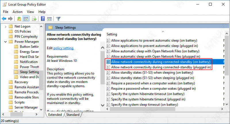Cara Menjaga Koneksi Internet Meskipun Windows 10 dalam Mode Sleep (3)