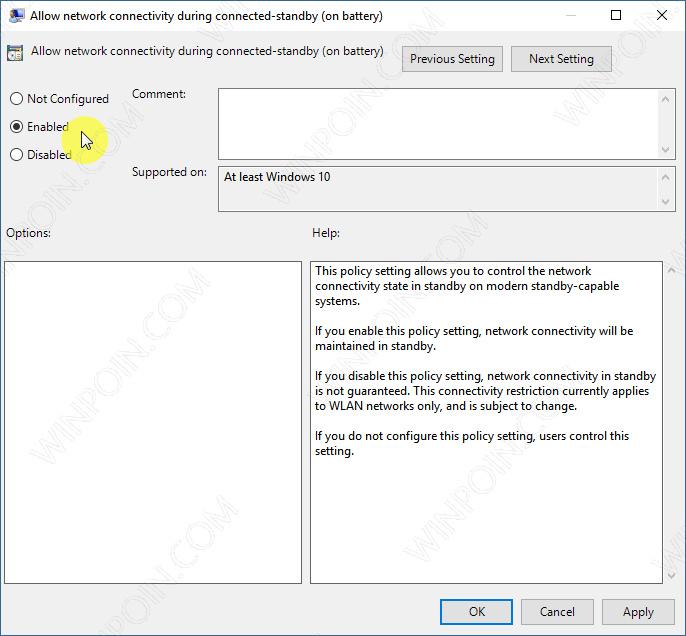 Cara Menjaga Koneksi Internet Meskipun Windows 10 dalam Mode Sleep (4)