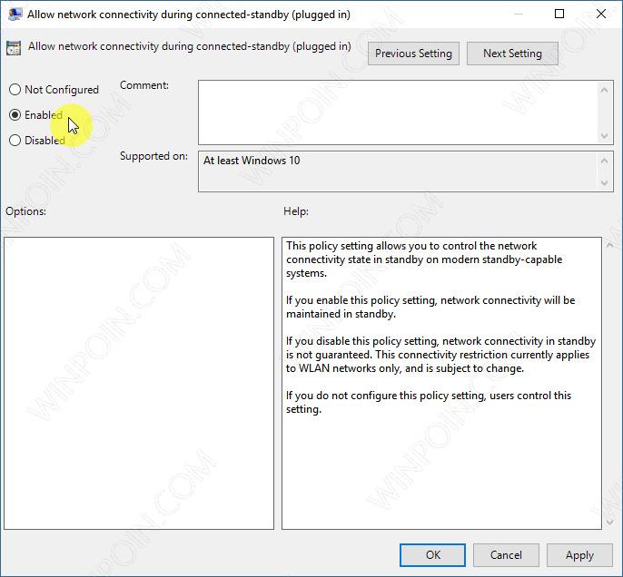 Cara Menjaga Koneksi Internet Meskipun Windows 10 dalam Mode Sleep (5)
