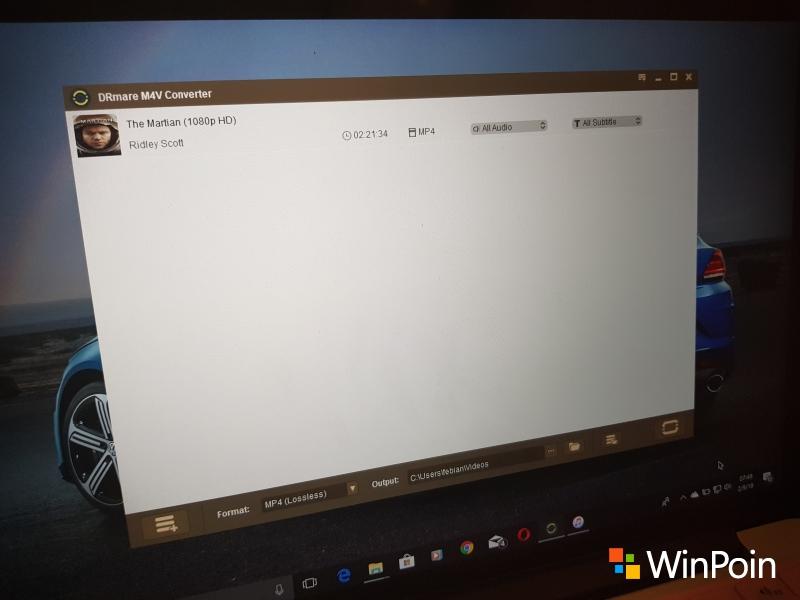 Review: DRmare M4V Converter untuk Windows