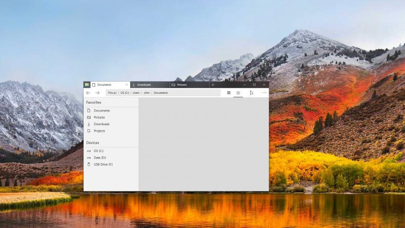 Konsep Desain File Explorer Modern di Windows 10, Menurut Kamu?