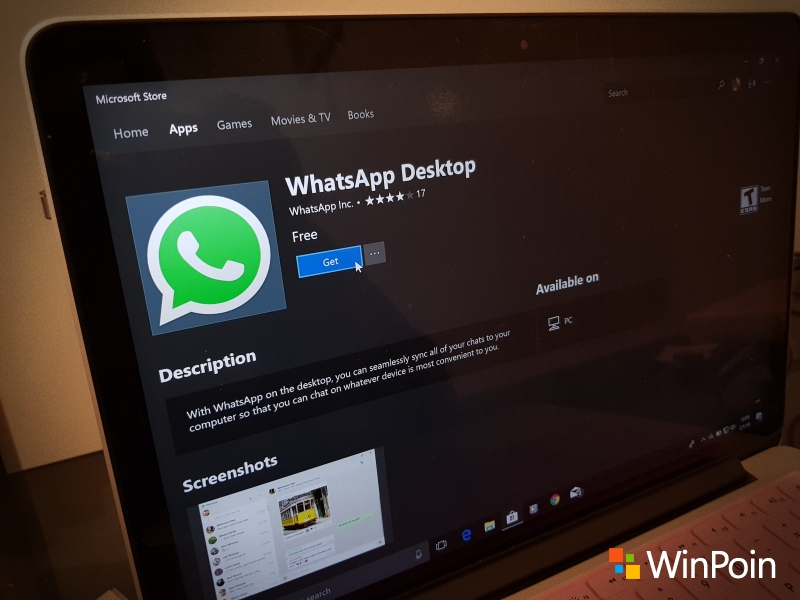 Download: WhatsApp Desktop untuk Windows 10 Dirilis di Microsoft Store