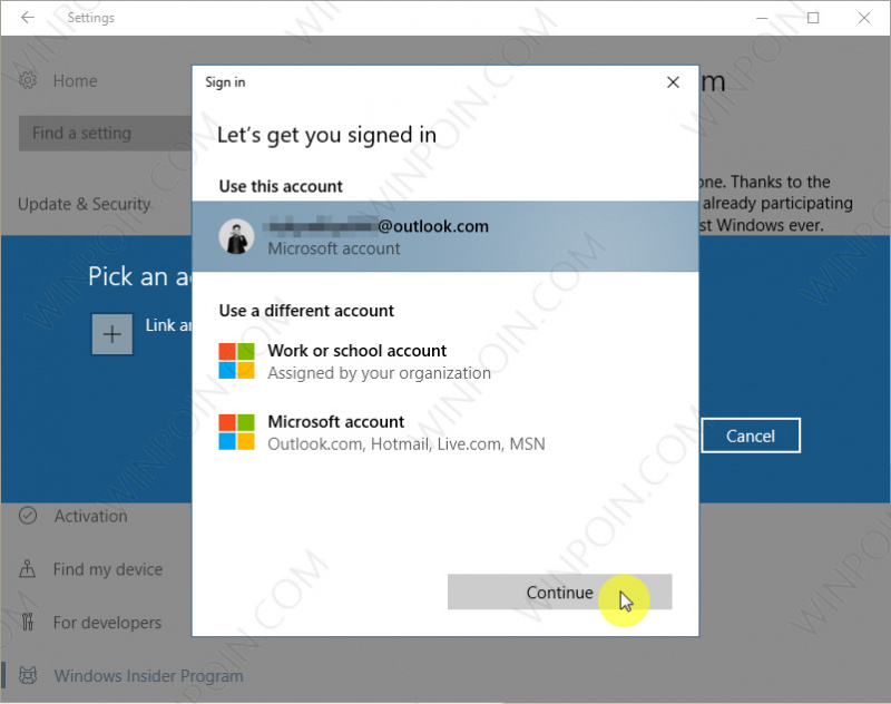 Cara Bergabung Program Windows Insider di Windows 10 (3)Cara Bergabung Program Windows Insider di Windows 10 (3)