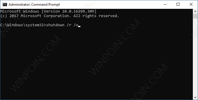 Cara Cepat Boot ke Advanced Startup Options di Windows 10 (3)