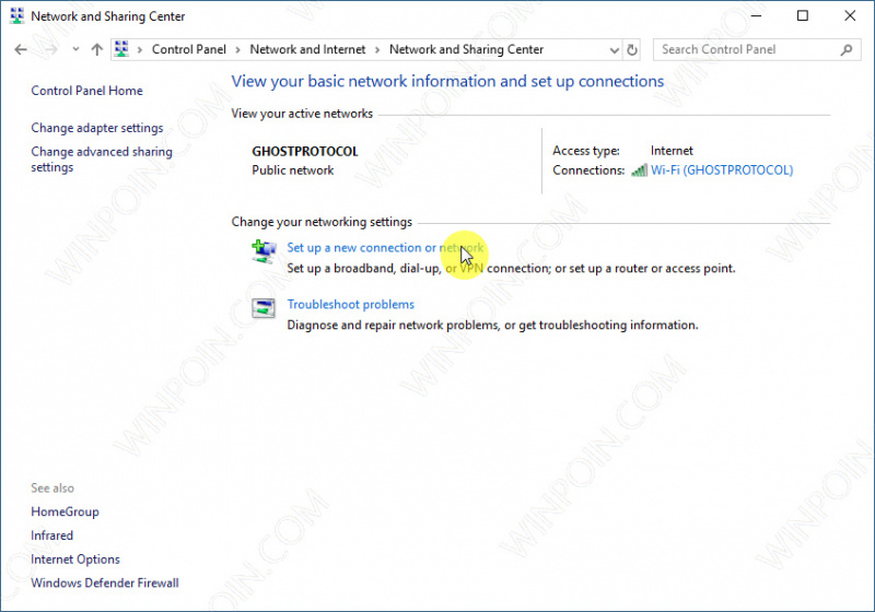 how to find hidden wifi networks on windows 10