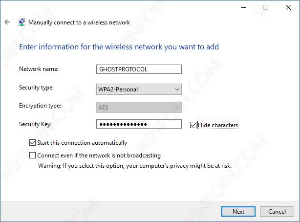 Cara Terhubung Ke Hidden Wifi di Windows 10 (7)