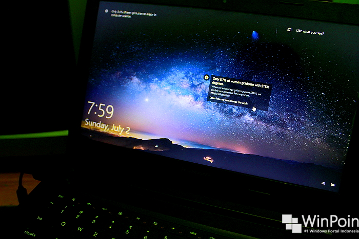 Cara Menghapus Background pada Lock Screen di Windows 10 (1)