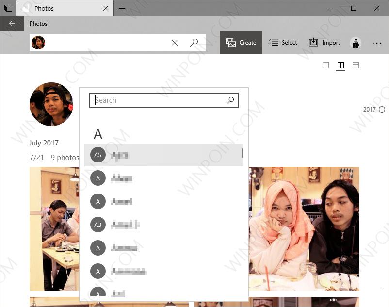 Cara Tag Seseorang pada App Photos di Windows 10 (3)