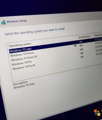 Windows 10 Lean — Versi Baru Windows untuk PC Minim Storage!