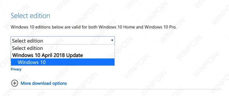 Lengkap: Cara Download File ISO Windows 10 April 2018 Update (Final