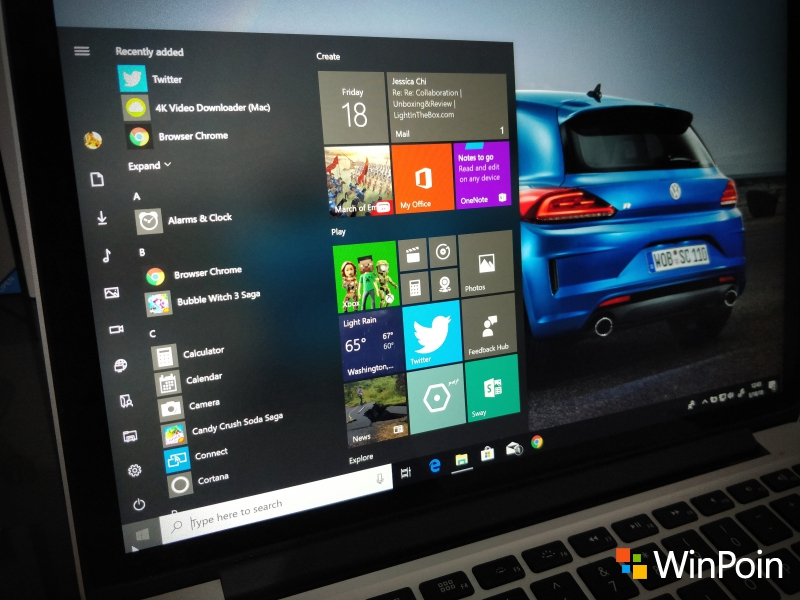 Tweak: Cara Mengganti Nama Aplikasi di Start Menu Windows 10