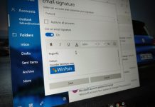 Fitur Signature Baru di Windows 10 Mail yang Perlu Kamu Coba