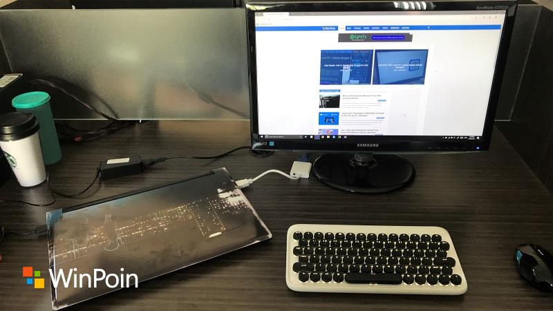 Cara Laptop Tetap Aktif Dalam Posisi Tertutup Tersambung Monitor Eksternal Winpoin
