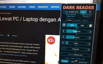 Dark Reader: Add-on Terbaik Bagi Penggemar Dark Mode