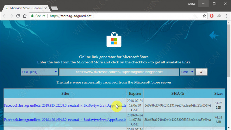 Cara Download Aplikasi Windows 10 Secara Offline (2)