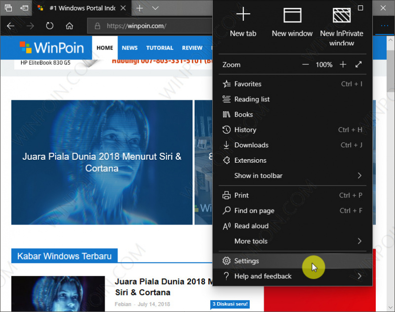 Cara Mematikan Autoplay Video di Microsoft Edge (1)