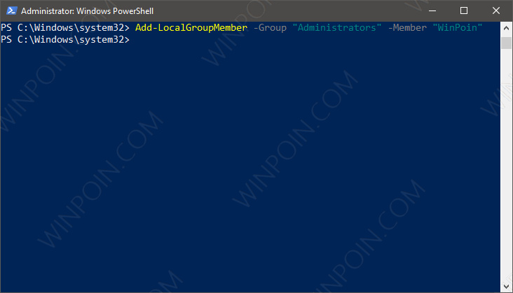 Cara Membuat User Baru di Windows 10 dengan PowerShell (4)