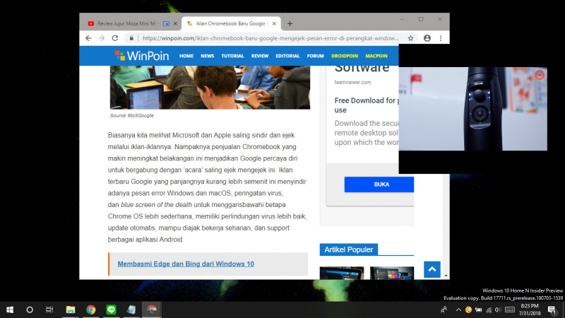Cara Mengaktifkan Mode Picture-in-Picture di Google Chrome (1)
