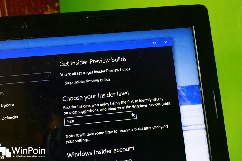 Cara Menghilangkan Menu Windows Insider Program di Settings Windows 10 (1)