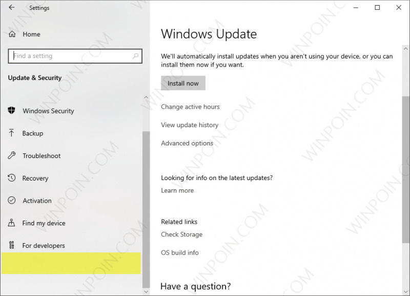 Cara Menghilangkan Menu Windows Insider Program di Settings Windows 10 (3)