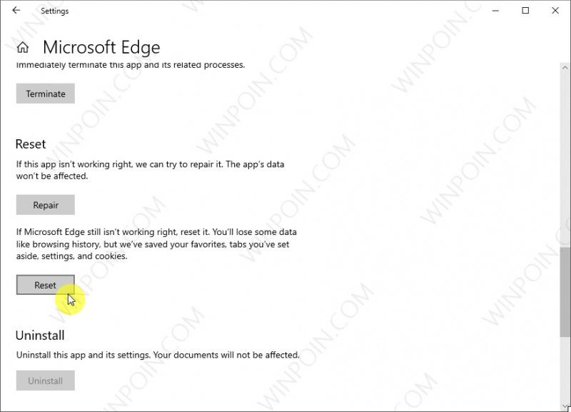 Cara Mudah Reset Microsoft Edge di Windows 10 (3)