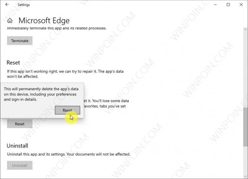 Cara Mudah Reset Microsoft Edge di Windows 10 (4)