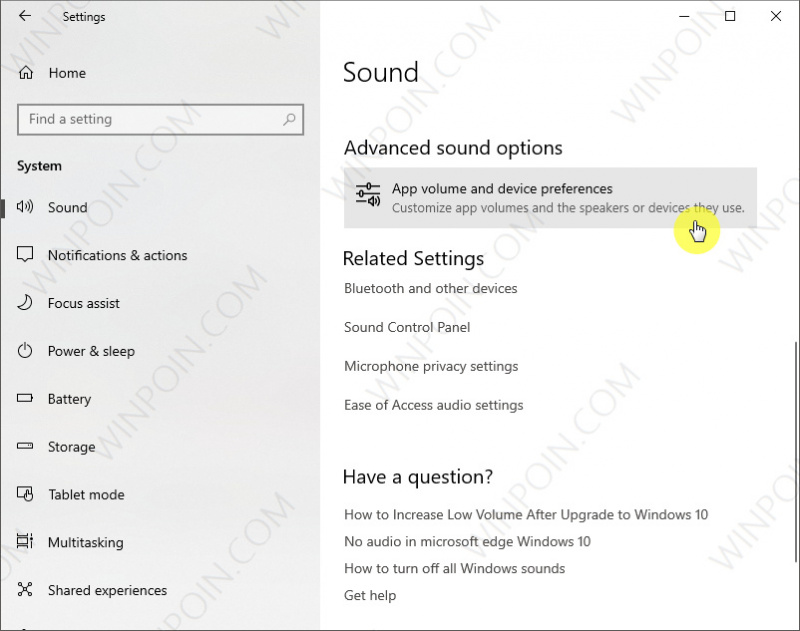 Pengaturan Suara Baru di Windows 10 April 2018 Update (3)