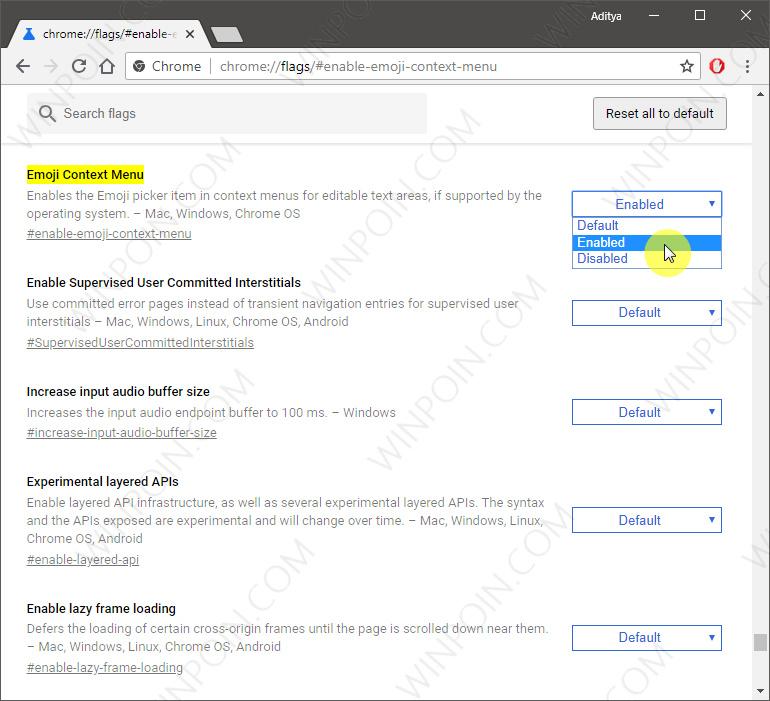 Cara Mengaktifkan Panel Emoji di Google Chrome (2)