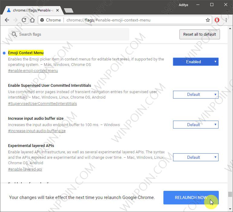 Cara Mengaktifkan Panel Emoji di Google Chrome (3)