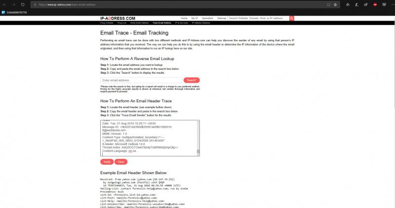 Cara Melacak Balik IP Address dari Email yang Kita Terima