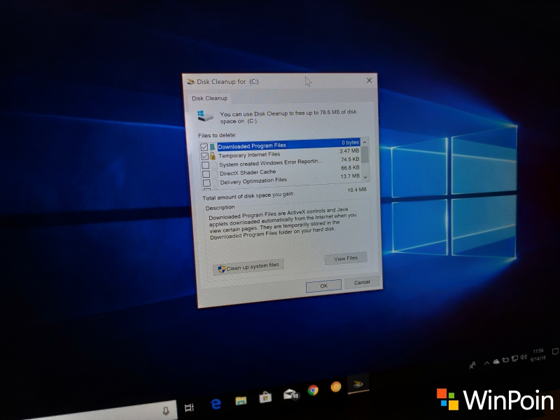"RIP: Selamat Tinggal ""Disk Cleanup"" Windows 10"