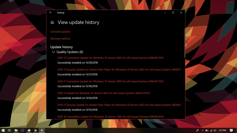 Cara Menghapus Windows Update History di Windows 10