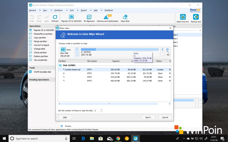 Review: EaseUS Partition Master Professional (Giveaway!)