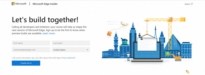 Kamu Sekarang Bisa Mendaftar Beta Tester Untuk Mendapatkan Microsoft Edge Berbasis Chromium Lebih Cepat.