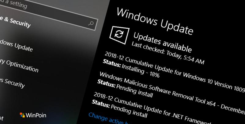 Kumulatif Update Dirilis Microsoft Untuk Beberapa Build Windows 10