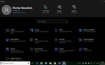 Microsoft Menguji Jenis Header Baru di Pengaturan Windows 10