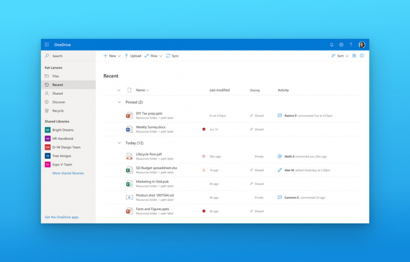 "OneDrive Untuk Windows Akan Segera Mendapatkan Elemen ""Fluent Design"" Yang Lebih Baik"