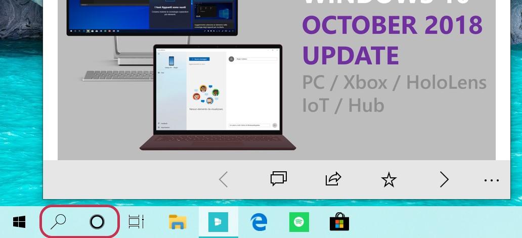"""Microsoft Memperkenalkan Fitur Pencarian Terpisah dan Pilihan Cortana di Windows 10 """"19H1"""""""