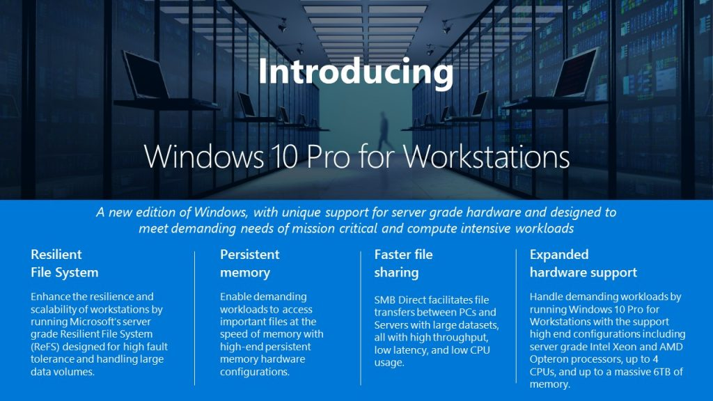 Apa Itu Windows 10 Pro For Workstations, dan Bedanya dengan Windows 10 Pro_2