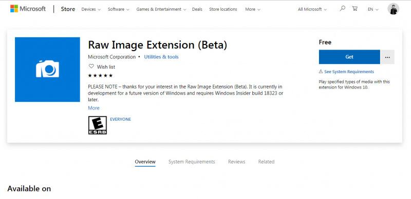 Cara Membaca Gambar dengan Format RAW di Windows 10