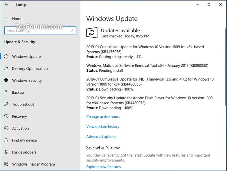 Microsoft Menguji Cumulative Update Baru Untuk Windows 10 October 2018 Update