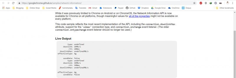 Cara Cek Kecepatan Koneksi Internet Dengan Chrome Console