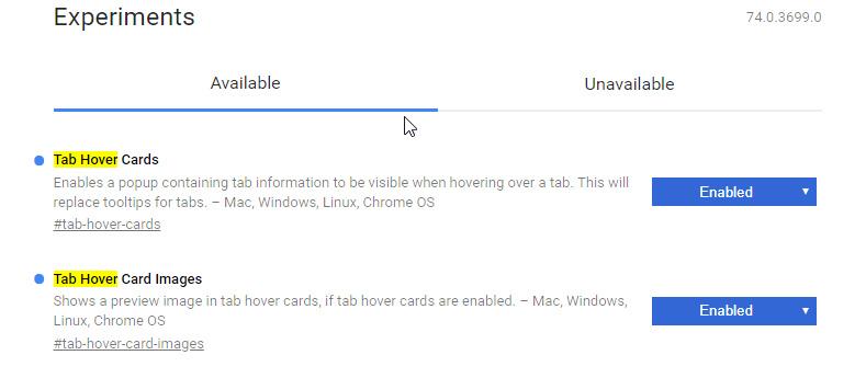 Chrome Akan Dapat Tab Preview Seperti Microsoft Edge?!