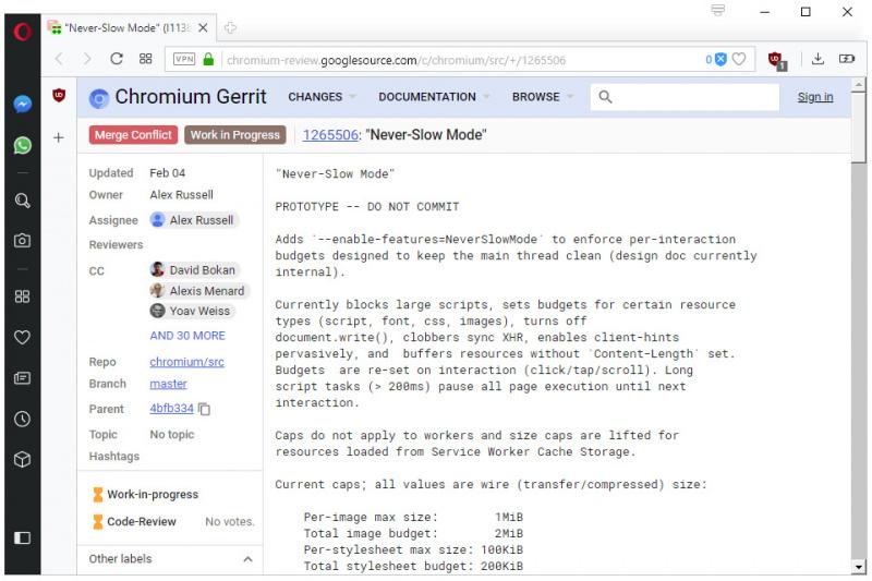 """Google Berencana Membuat Chrome Berjalan Lebih Cepat dengan """"Never Slow Mode""""! Apakah itu?"""