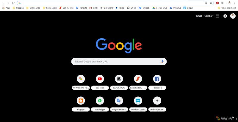 Google Merilis Official Theme Untuk Chrome! Ada Dark Theme Juga
