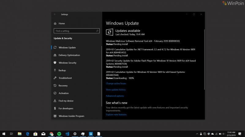 Kumulatif Update Untuk Windows 10 1809 Juga Telah Tersedia, Download Sekarang Juga!