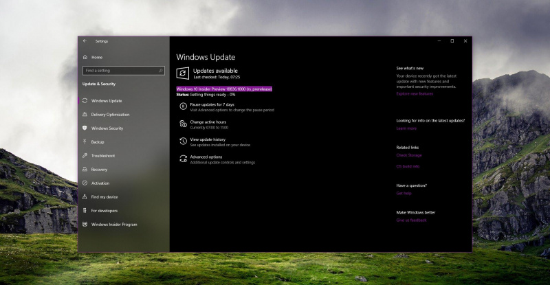 Microsoft Merilis Build Preview Pertama Windows 10 20H1!
