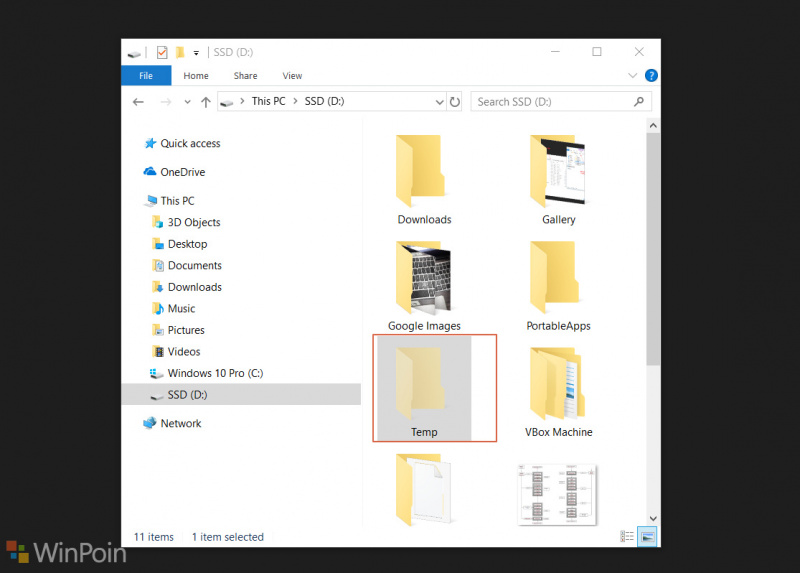 Cara Ubah Lokasi Folder Temporary Windows 10!
