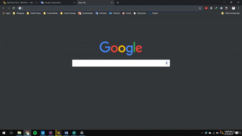 Chrome Dark Mode Sekarang Sudah Bisa Digunakan! Tapi.....